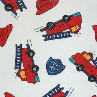 Firetruck One Pc Jumper PJs