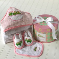 Tillie the Turtle Bath Gift Set
