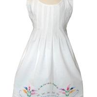 Vintage Pintuck Dress