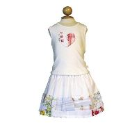 Hankie Skirt Set