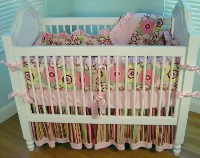 Cottage Dreams 4pc Crib Beding