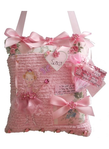 Princess Sara Tooth Fairy Pillow