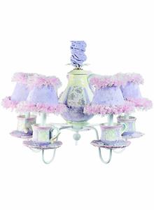 Lavender Bavarian Chandelier