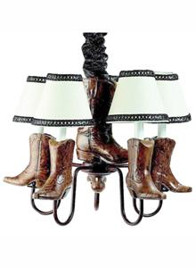 Cowboy Chandelier