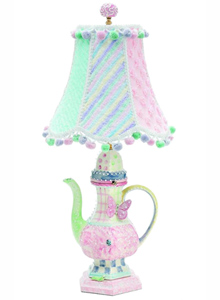 Teapot Multi color Lamp