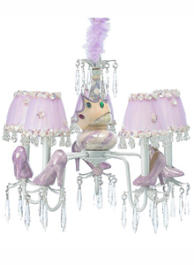 Glass Slipper Chandelier