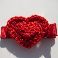 Hailey Lynne Heart Toddler Clip