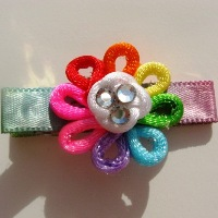 GerriBear Rainbow Toddler Clip