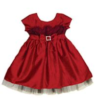 Poinsettia Dress