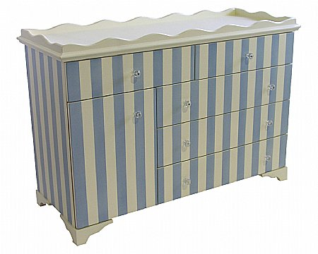 Cabana Stripe 4ft Dresser Changer