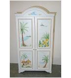 Tropical Safari Aloha Armoire