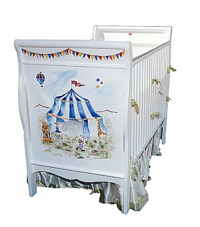 Big Top Circus Crib