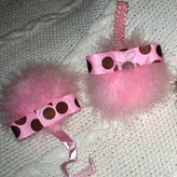 Wipie Couture Pink Posh Paci Clip