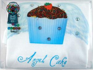 AngelCake Embellished Onesie/Shirt