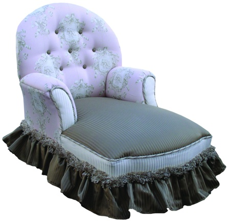 Child's Chaise Lounge Angelica Cherub