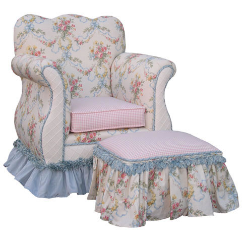 Children's Empire Chair-Blossoms and Bows