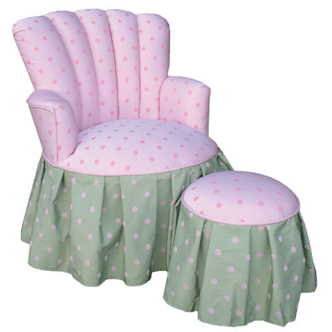 Child's Princess Chair Bubblegum