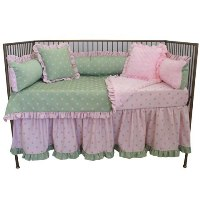 Bubble Gum Crib Bedding