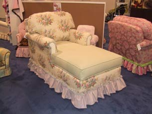 Adult Continental Chaise Lounge  Full Bloom
