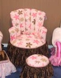 Child's Princess Chair Chocolate Kisses
