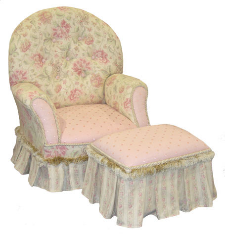 Child's Queen Anne Chair