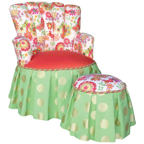 Child's Princess Chair Flower Child