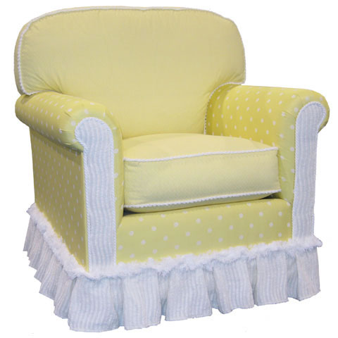 Adult Contemporary Rocker Glider  Fresh Lemonade