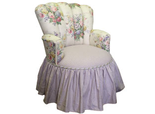 Child's Princess Chair Full Bloom