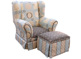 Child Wingback Chair Galaxy