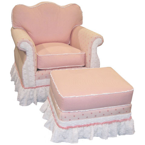 Adult Empire Rocker Glider  Pink Taffy