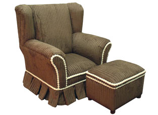 Child's WingBack Chair Whaler