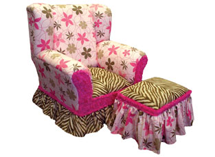 Child's Wingback Chair Wild Things