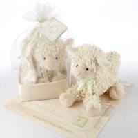 Love Ewe Baby Lamb Set with Lovie