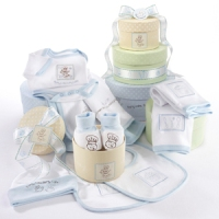 Patty Cake Layette Set blue