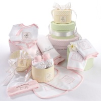 Patty Cake Layette Set Pink