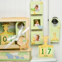 Baby on Safari Gift Set