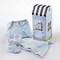 Welcome Home Layette Set Blue