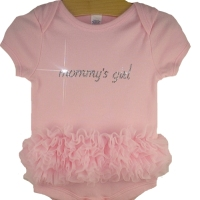 Mommys Girl Tutu Onesie