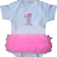 First Birthday Tutu Onesie