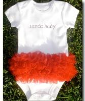 Santa Baby Tutu Onesie
