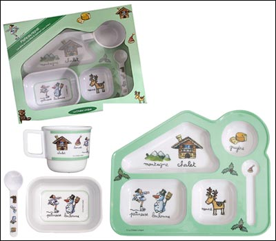 Winter Alpine Meal Set