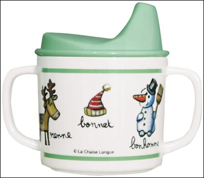 Winter Alpine Sippy cup