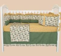 Slumber Safari 4 pc Crib Set