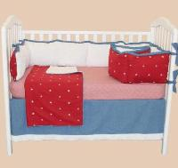 Star Bight 4pc Crib Bedding