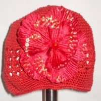 Red Crochet Hat