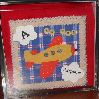 A is for Airplane Gift Set