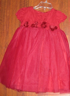 Biscotti Scarlet baby Tulle Dress