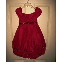 Biscotti Precious Jewel Red Bubble Dress