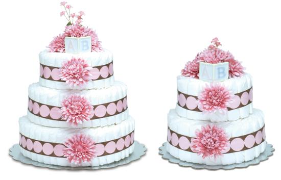 Pink Mums Cake
