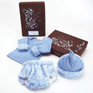 Birth Day Box Gift Set in Blue